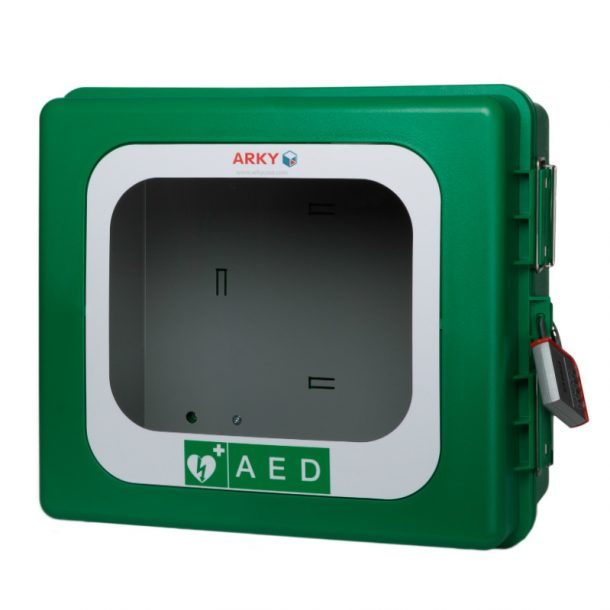 Arky Outdoor Aed Cabinet With Heating 24v